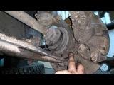 Ремонт рулевой рейки VW Passat b3, снятие и установка.