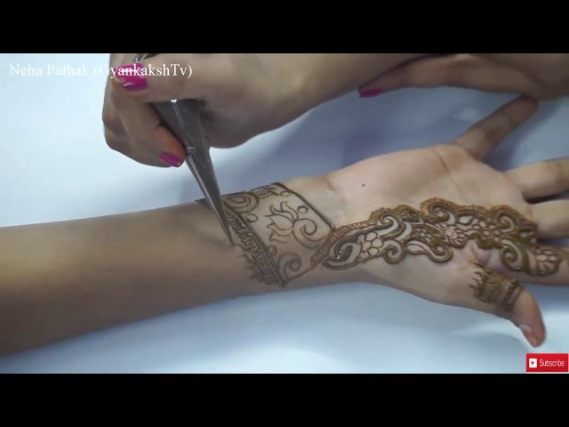 Easy Arabic Henna Designs : Simple Mehndi Design for hands Step by Step for Beginners 50