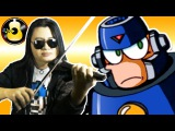Mega Man 3 - Hard Man Theme (Rock Violin CoverRemix)  String Player Gamer