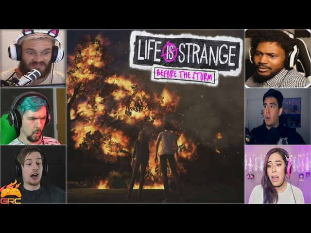 Gamers Reactions to Rachel Starting a Forest Fire | Life is Strange: Before the Storm