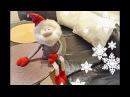 Текстильная кукла Новогодний гном / Christmas Gnome DIY Tutorial