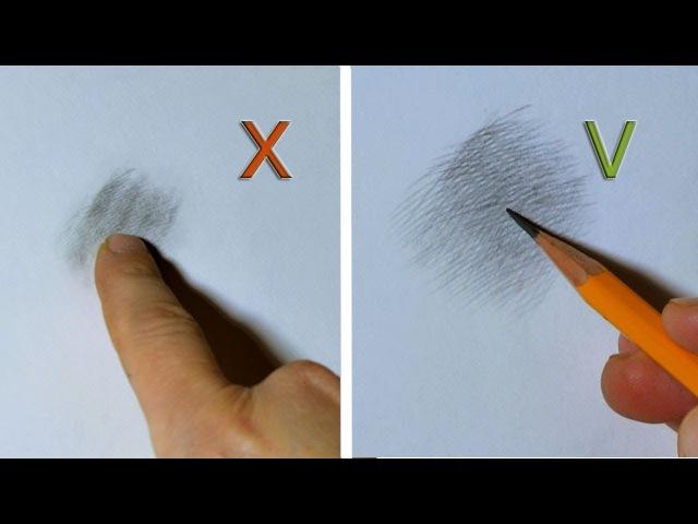 ✓Классическая штриховка. СЕКРЕТЫ ШТРИХОВКИ карандашом. Урок рисования