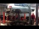 Тойота Центр Люберцы Тойота LC 200 снятие кузова