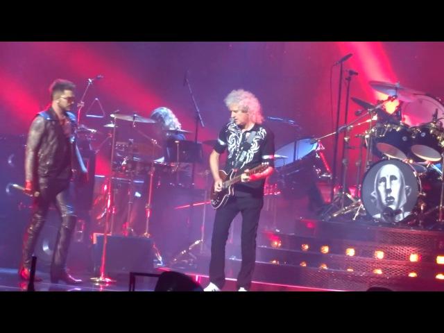Queen Adam Lambert - Hammer To Fall @ TD Garden Boston 07/25