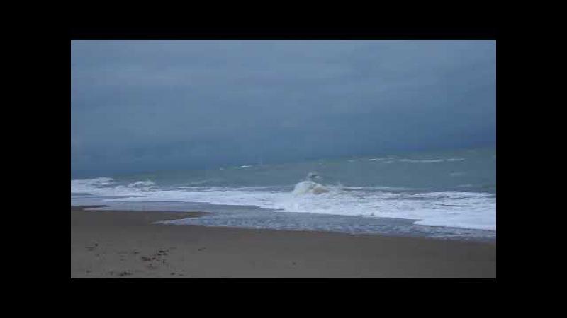 Каролино-Бугаз. Черное море. Вечернее побережье. Carolino-Bugaz. Black Sea. Evening coast.
