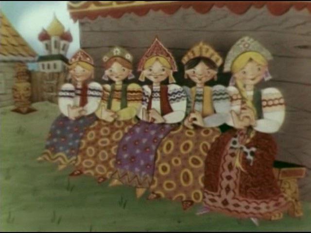 Русские потешки (1969) Советский мультфильм | Золотая коллекция