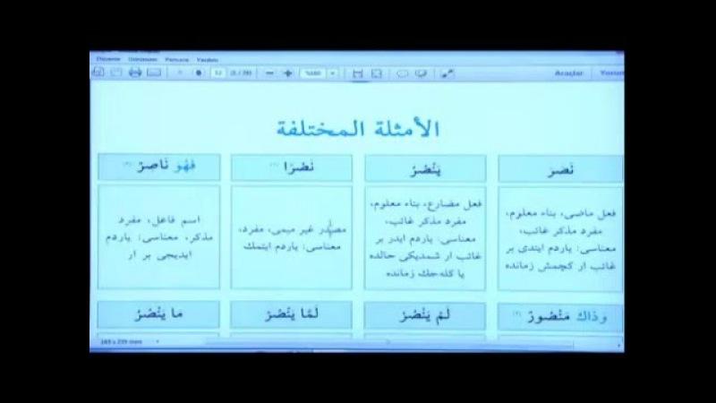 Emsile Dersi 1 - İbrahim Aydemir Hoca