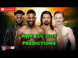 WWE TLC 2017 Cedric Alexander &amp Rich Swann vs Gentleman Jack Gallagher &amp Brian Kendrick WWE 2K18