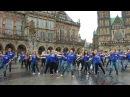 Zouk Flashmob 2017 - Bremen Marktplatz