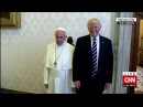 Pope Francis SLAPS Donald Trump's Hand For Touching Him (VIDEO) Angry Pope Slaps Trump's Hand Away