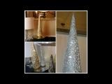 NEW ! Holiday Home Diy Luxurious Glam Christmas tree