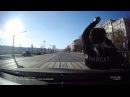 Драка на дорогеДеда чуть не сбило авто,но он дал пзды водителюБыдло на дороге