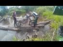 Enduro - назад дороги нет!😲переправа через реку
