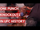 TOP 5: One Punch Knockouts In UFC History top 5: one punch knockouts in ufc history