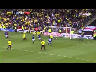 Watford 3-1 Leicester Play Off | AMAZING!