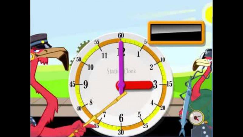 Fun Clock In App Teaching Video Learn to tell time!