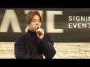 20171012 Kim Hyun Joong Daegu Fansign