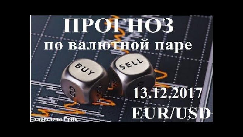 Прогноз по евро доллар (EUR/USD) на 13.12.2017