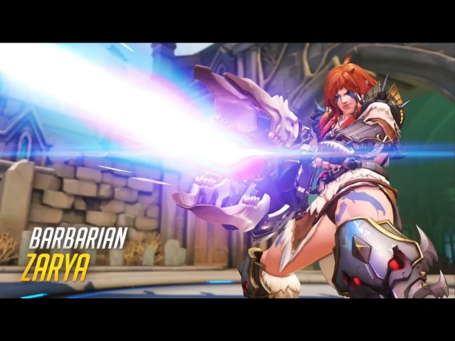 Overwatch: NEW PERMANENT SKINS Blizzard World [Blizzcon 2017]