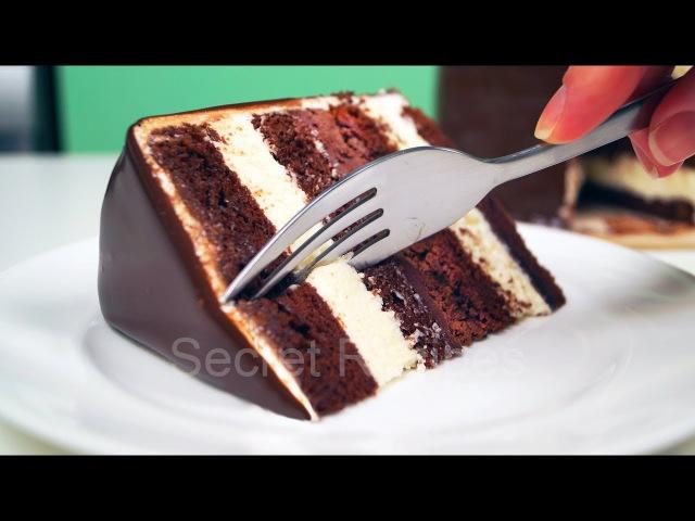 Шоколадный торт с 2 простыми муссами