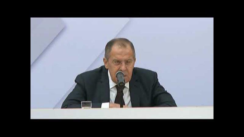 Пресс конференция Лаврова по итогам СМИД ОБСЕ в Вене
