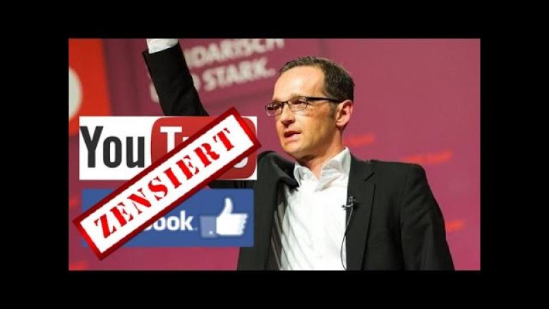 Zensurminister Maas und deutschlandfeindliche SPD im 4. Teil der