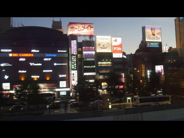 Shinkansen 新幹線 4K Nagoya 2016