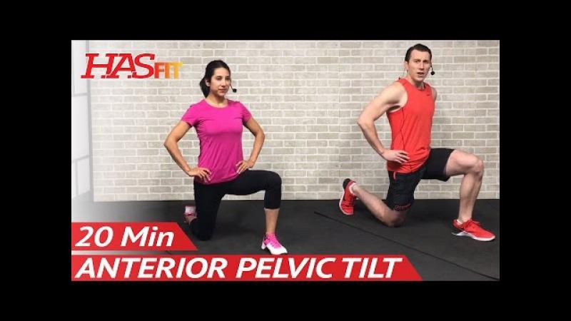 How to Fix Anterior Pelvic Tilt: 20 Min Hyperlordosis Correction Exercises