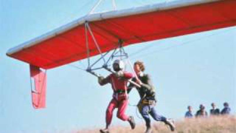 1978.11 Rob Softly built Icarus V [5] hang glider by Taras Kiceniuk jr