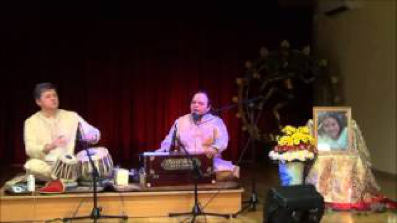 Mahadev Dev Raga Bhayrav Simple Vocalist and Sergey Puchkov tabla Concert in the Indian Embassy