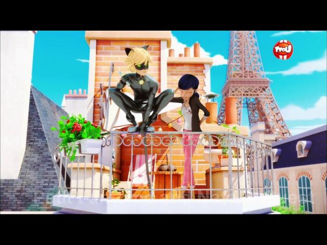 Miraculous Ladybug MariChat Balcony Scene Fanmade Fandub