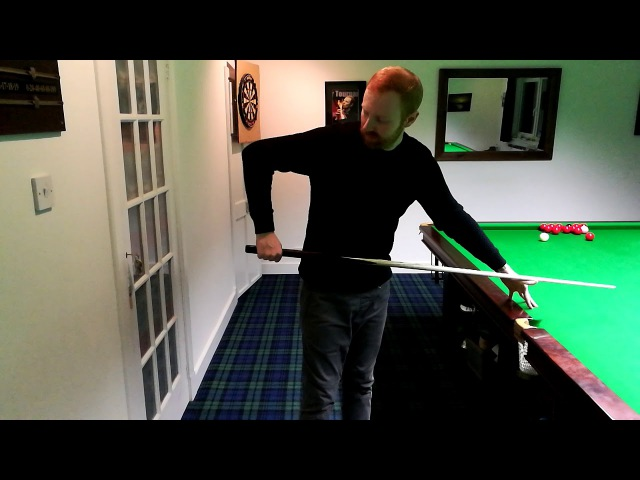 QA Stance, grip and cue action