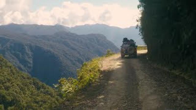 Мир Приключений - Дорога смерти. Боливия. Самые опасные дороги в мире. Death Road Bolivia.