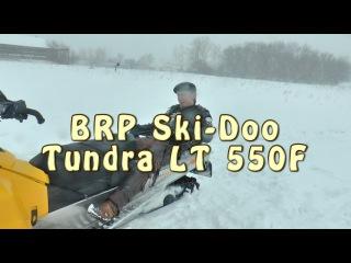 Докатились тест драйв снегохода BRP Ski-Doo Tundra LT 550F
