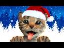 ПРИКЛЮЧЕНИЕ МАЛЕНЬКОГО КОТЕНКА / мультик игра: котик стал Дедом Морозом или Сантой ПУРУМЧАТА
