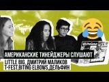 Американцы Слушают Русскую Музыку LITTLE BIG, T-FEST, ДМИТРИЙ МАЛИКОВ, ДЕЛЬФИН, BITING ELBOWS