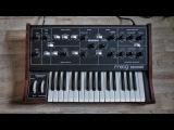 Moog Prodigy Analog Synthesizer (1979) Retro Sounds