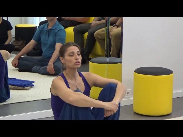 Бесплатный семинар от Рьяны Крошки: ребозо - энергетический массаж полотном