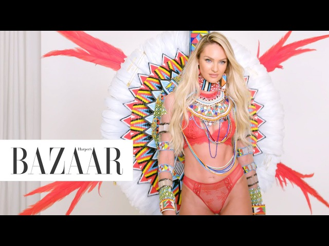 Supermodel Candice Swanepoel Returns to the Victoria's Secret Fashion Show | Harper's BAZAAR