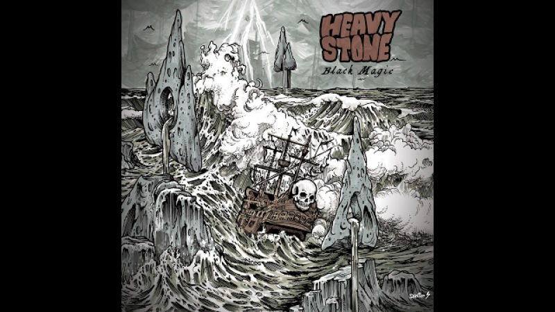 Heavy Stone - Black Magic (2017) (Full Album) stoner blues majorminor blacksabbath