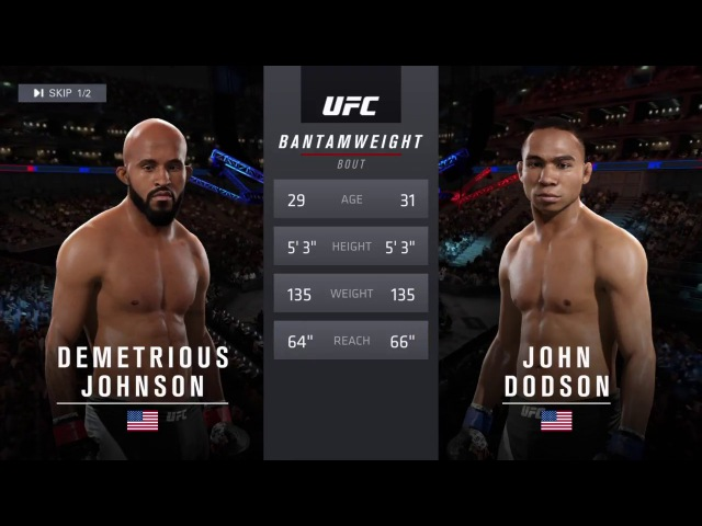 RFC 37 BANTAMWEIGHT - Demetrious Johnson (KaMaTo3a) vs John Dodson (maks910031)