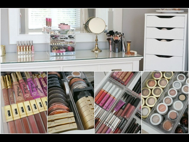 Makeup Collection Storage Organization 2015