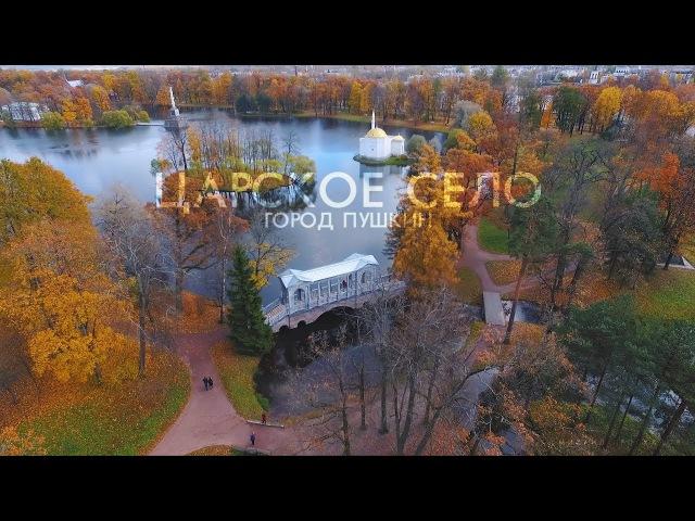 Царское село   Санкт Петербург с дрона