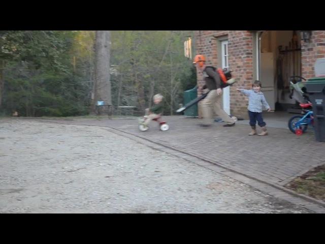 My Leaf Blower Engine Tricycle - Speed