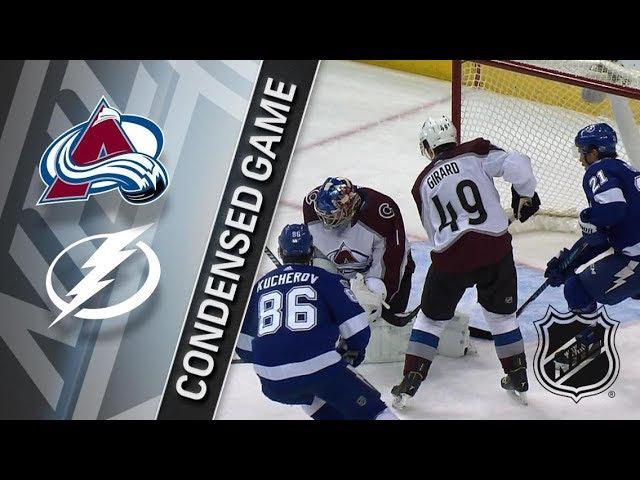 Colorado Avalanche vs Tampa Bay Lightning – Dec. 07, 2017 | Game Highlights | NHL 2017/18. Обзор
