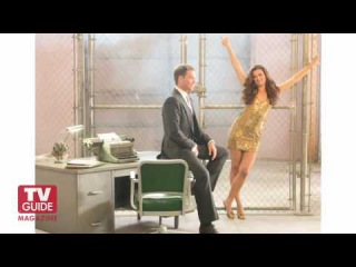 Michael Weatherly and Cote de Pablo! NCIS Cover Shoot! Viva la Tiva!