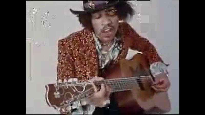 12 STRING BLUES Jimi Hendrix - Hear My Train A´Comin' (acoustic)