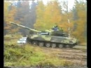 Независимый тест советского танка Т-80 (1976 года выпуска) по заказу Шведской армии ...
