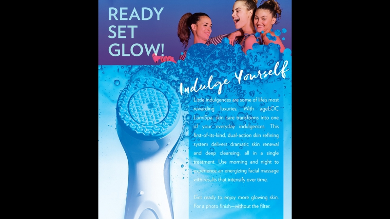 AgeLOC LumiSpa Treat Demo