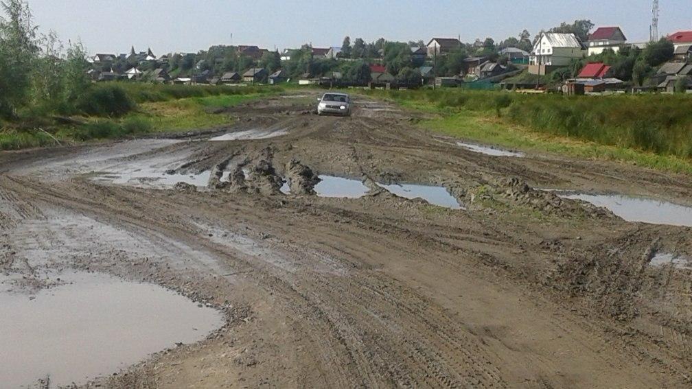 Прокуратура потребовала отремонтировать дорогу в Парабельском районе